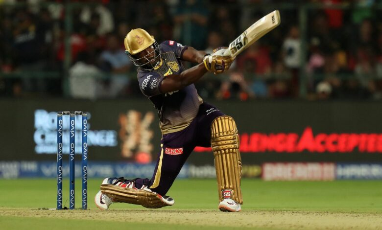 Andre Russell 54 of 22