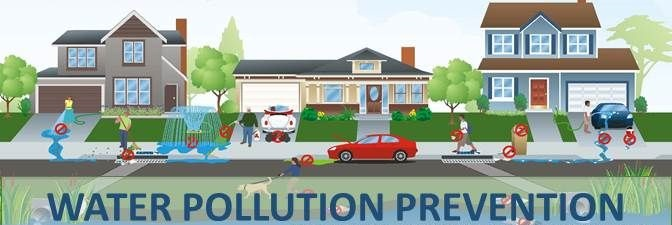 Water pollution preventions