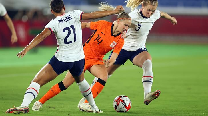 Olympic Games Tokyo 2020: Netherlands vs United States Full Match Highlights